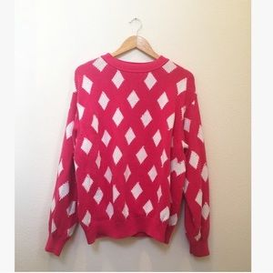 Vintage United Colors of Benetton Diamond Sweater